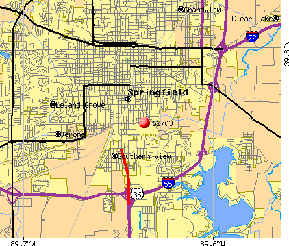 Springfield, IL (62703) map