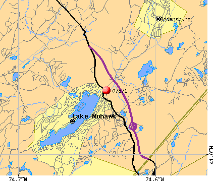 Lake Mohawk, NJ (07871) map