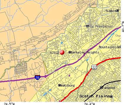 New Providence, NJ (07922) map