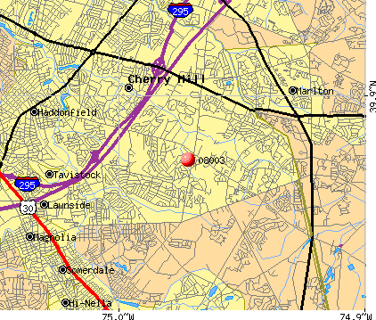 Springdale, NJ (08003) map