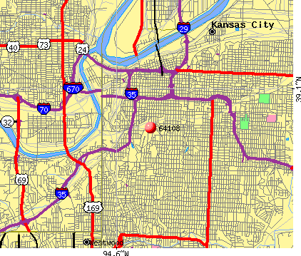 Pin Kansas City Zip Code Map On Pinterest