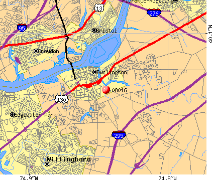 08016 map
