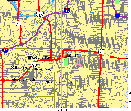 Kansas City, MO (64112) map