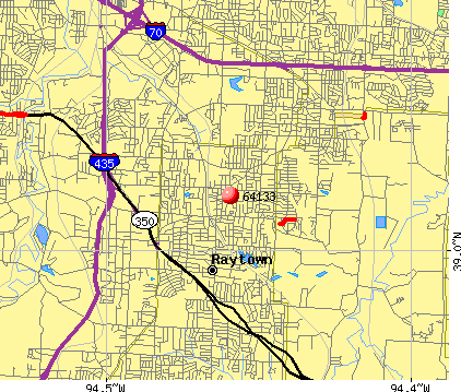 Kansas City, MO (64133) map
