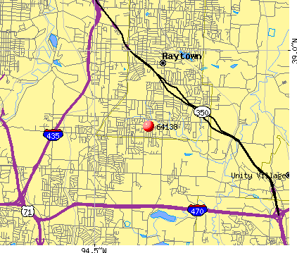 Kansas City, MO (64138) map