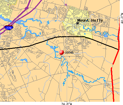 , NJ (08048) map