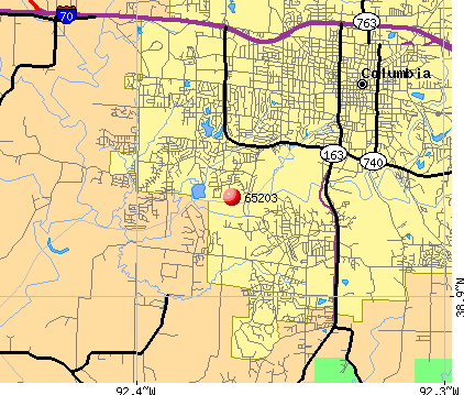 Columbia Mo Zip Code Map | Zip Code MAP