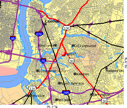 Oaklyn, NJ (08107) map