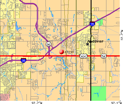 Wichita, KS (67230) map