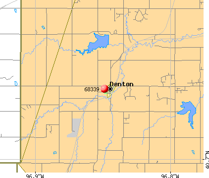 Denton, NE (68339) map