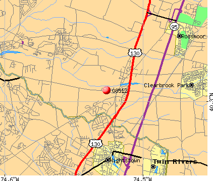 08512 map