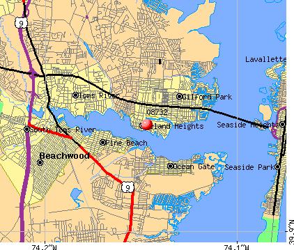 08732 map