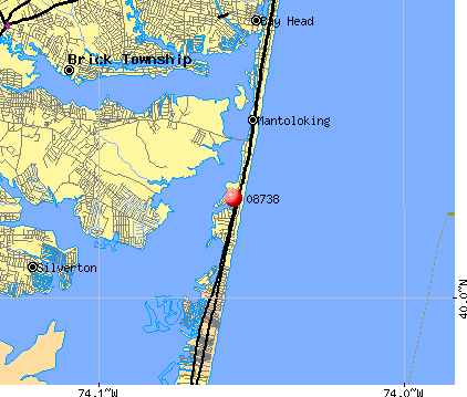 08738 map