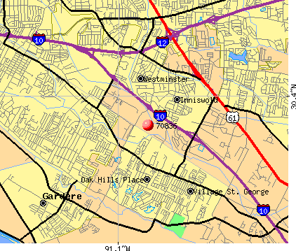 70836 map