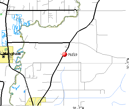 Baskin, LA (71219) map