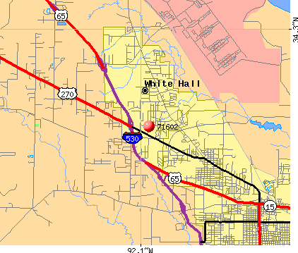 Pine Bluff, AR (71602) map