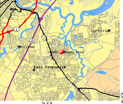 08882 map