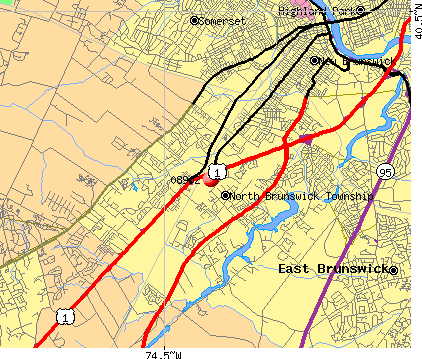 08902 map