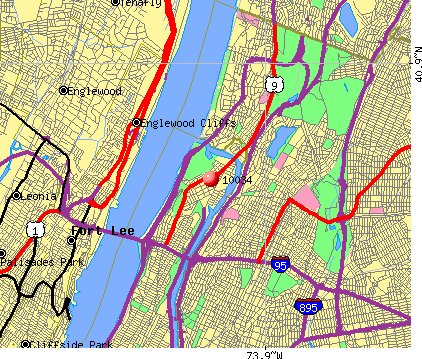 New York, NY (10034) map