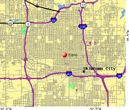 Oklahoma City, OK (73106) map