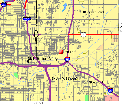 Oklahoma City, OK (73117) map