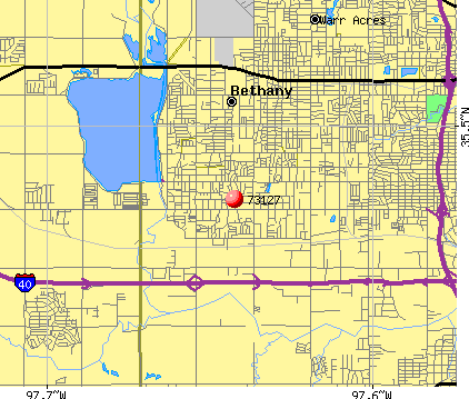 Oklahoma City, OK (73127) map