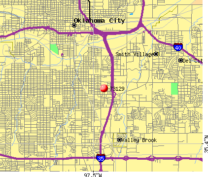Oklahoma City, OK (73129) map
