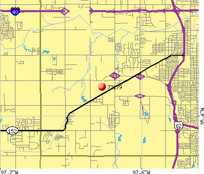 Oklahoma City, OK (73179) map