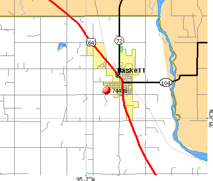 Haskell, OK (74436) map
