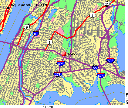 New York, NY (10460) map