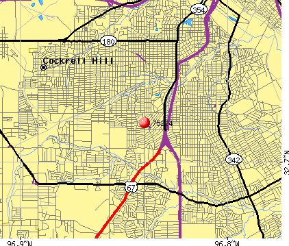 Dallas, TX (75224) map
