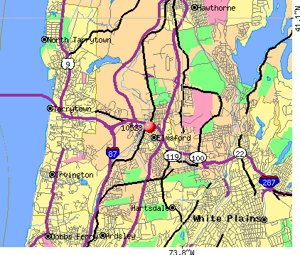 Elmsford, NY (10523) map