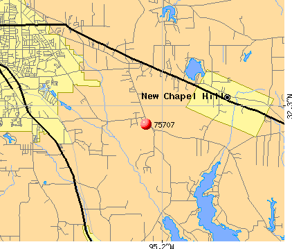Tyler, TX (75707) map