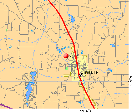 Lindale, TX (75771) map