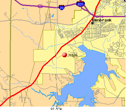 Benbrook Texas Map
