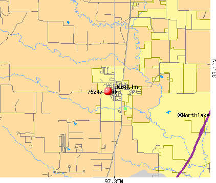Northlake, TX (76247) map