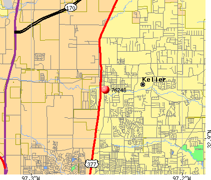 Keller, TX (76248) map