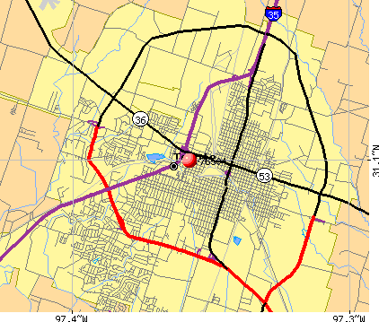 Temple, TX (76504) map