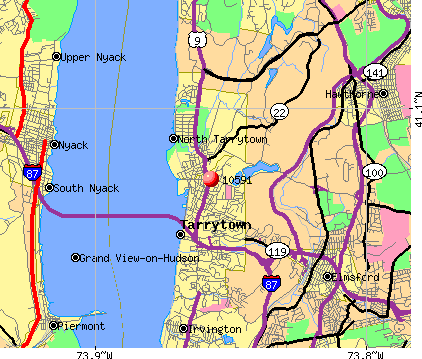 Tarrytown, NY (10591) map