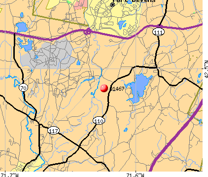 , MA (01467) map