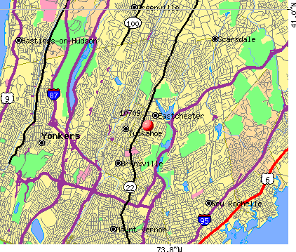 Eastchester, NY (10709) map