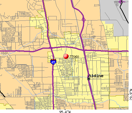 Houston, TX (77060) map