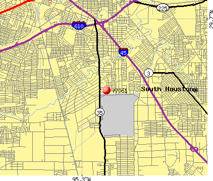 Houston, TX (77061) map