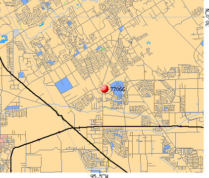 Houston, TX (77066) map
