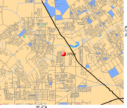 Houston, TX (77070) map