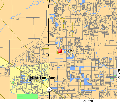 Houston, TX (77082) map