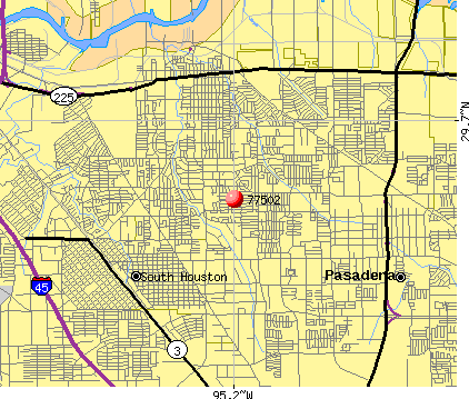 Pasadena, TX (77502) map