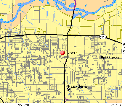 Pasadena, TX (77503) map