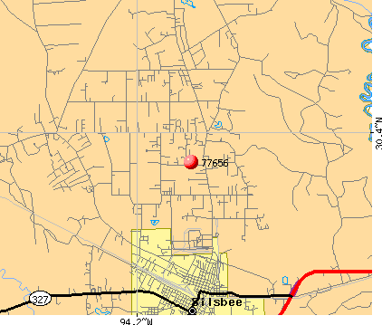 Silsbee, TX (77656) map