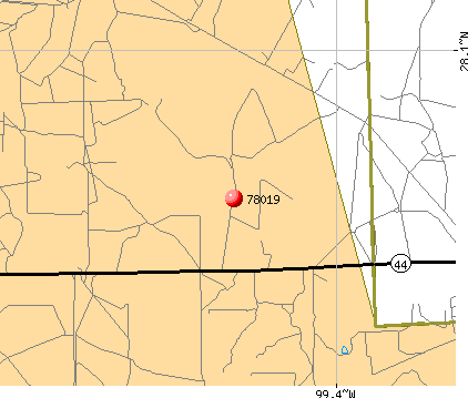 Encinal, TX (78019) map